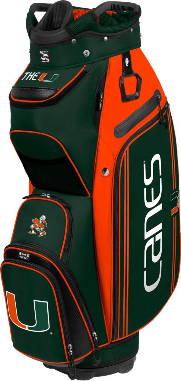 Team Effort Miami Hurricanes Bucket III Cooler Cart Bag product image