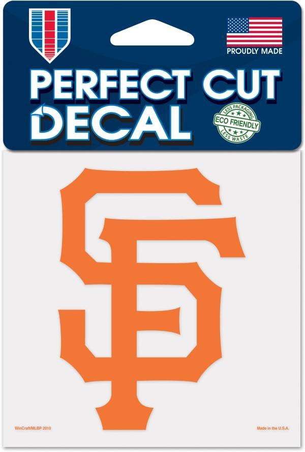WinCraft San Francisco Giants 4'' x 4'' Decal product image