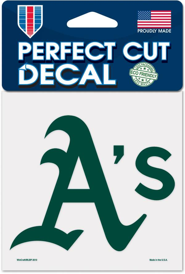 WinCraft Oakland Athletics 4'' x 4'' Decal product image