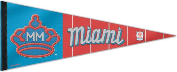 Wincraft Miami Marlins 2021 City Connect Pennant product image