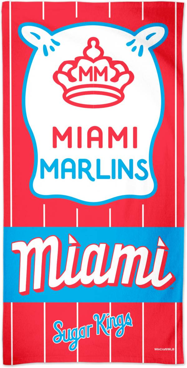 Wincraft Miami Marlins 2021 City Connect Beach Towel product image
