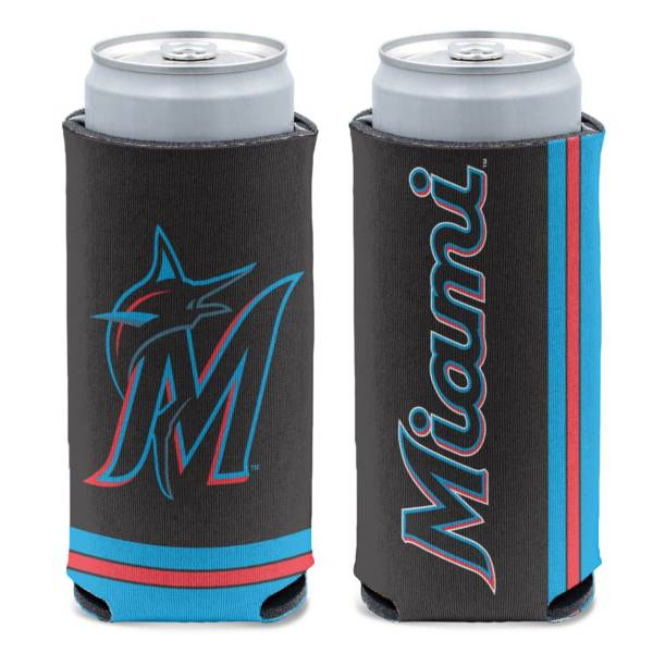 WinCraft Miami Marlins Slim Can Coozie product image