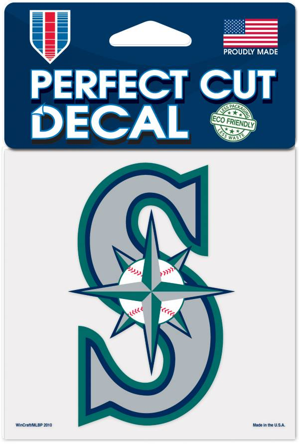 WinCraft Seattle Mariners 4'' x 4'' Decal product image