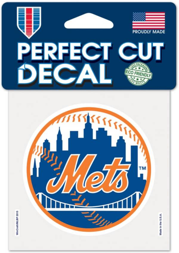 WinCraft New York Mets 4'' x 4'' Decal product image
