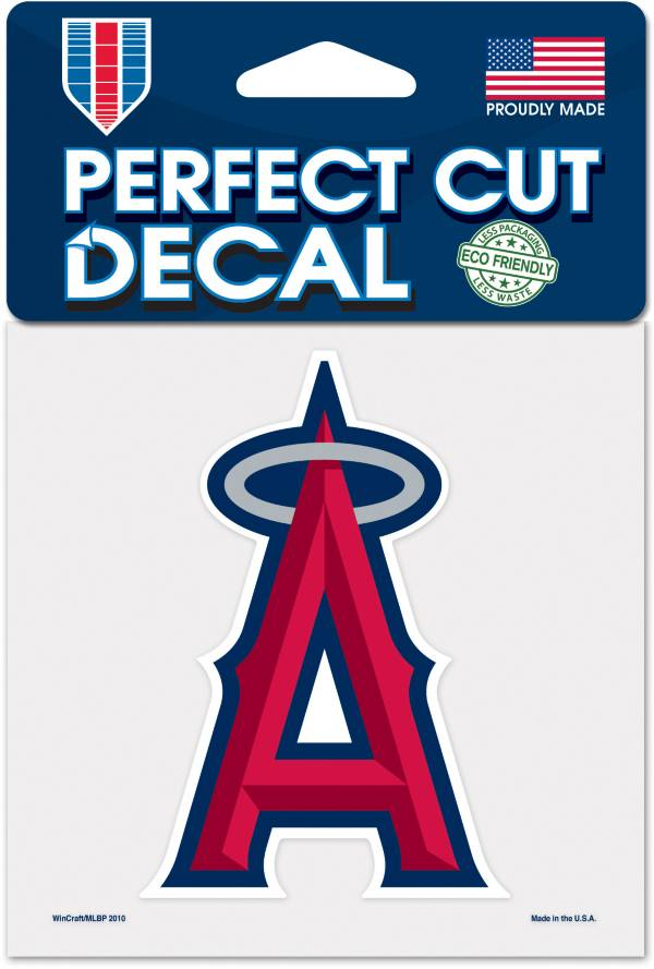 WinCraft Los Angeles Angels 4'' x 4'' Decal product image
