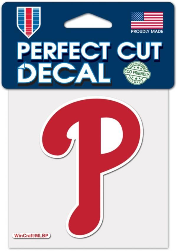 WinCraft Philadelphia Phillies 4'' x 4'' Decal product image