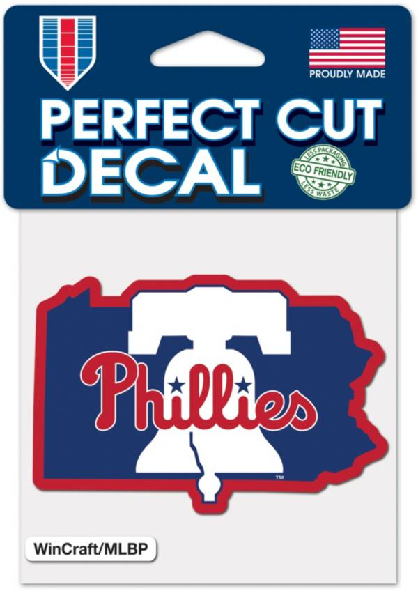 WinCraft Philadelphia Phillies State 4'' x 4'' Decal product image