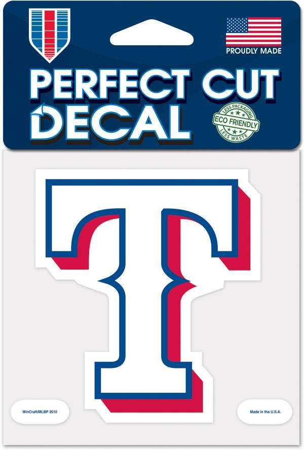 WinCraft Texas Rangers 4'' x 4'' Decal product image