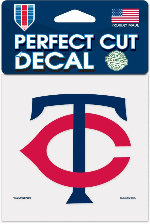 WinCraft Minnesota Twins 4'' x 4'' Decal product image