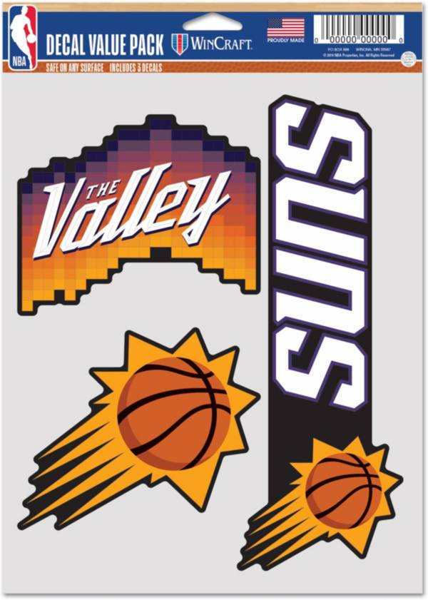 WinCraft 2020-21 City Edition Phoenix Suns Decal 3-Pack product image