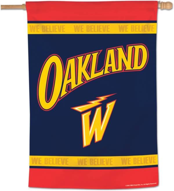 WinCraft 2020-21 City Edition Golden State Warriors 28'' x 40'' Banner product image