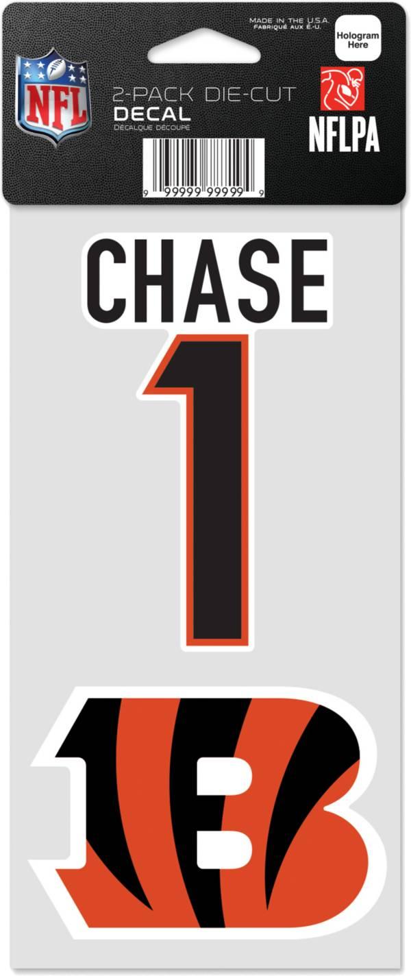 WinCraft Cincinnati Bengals Ja'Marr Chase 2 Pk. Decal product image