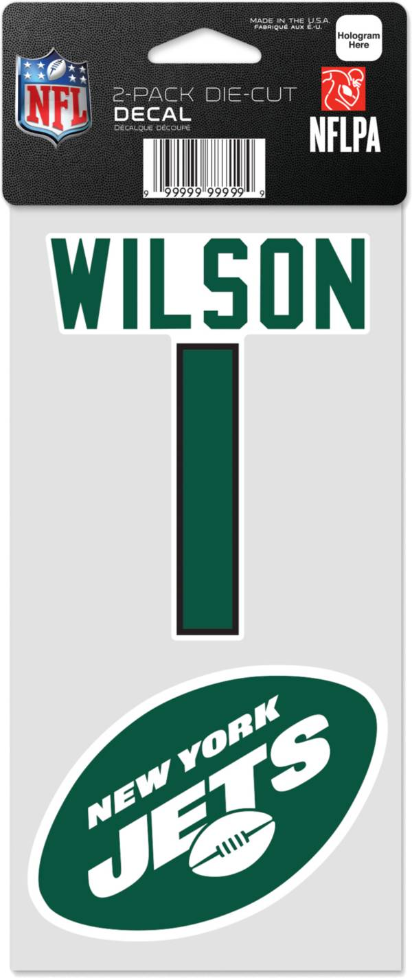 WinCraft New York Jets Zach Wilson 2 Pk. Decal product image