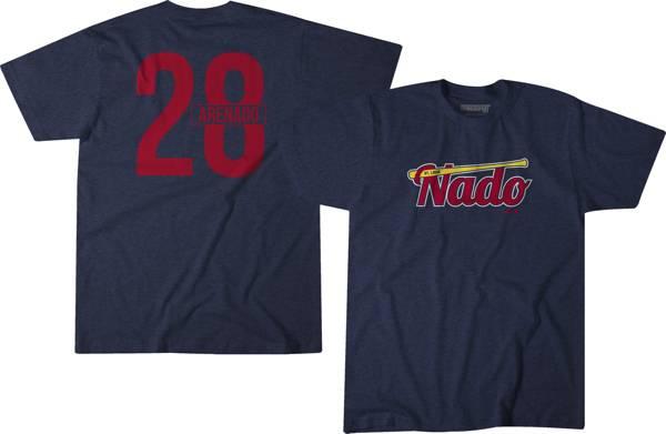 BreakingT Men's Nolan Arenado #28 Navy T-Shirt product image