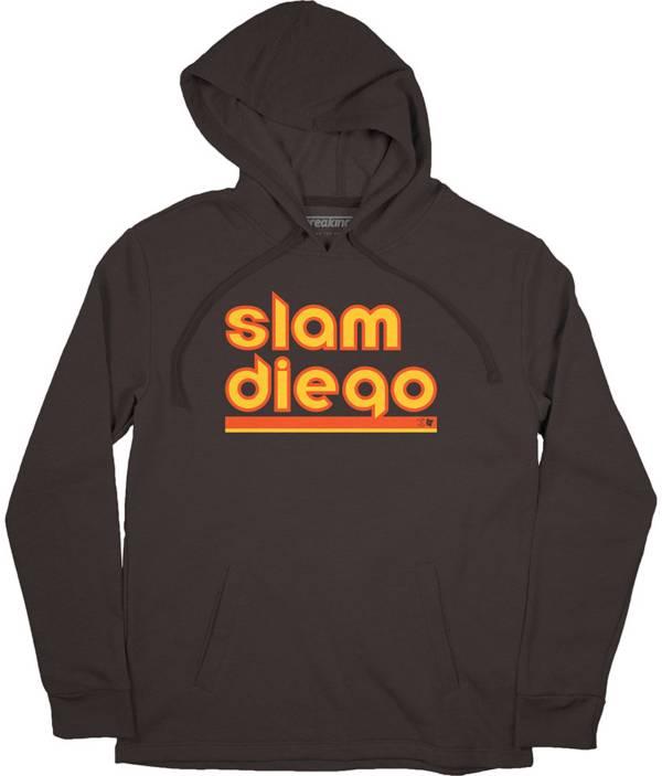 BreakingT Men's Slam Diego Brown Hoodie product image