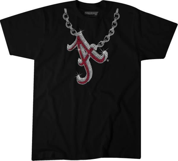 BreakingT Men's Alabama Crimson Tide Homer Chain Black T-Shirt product image