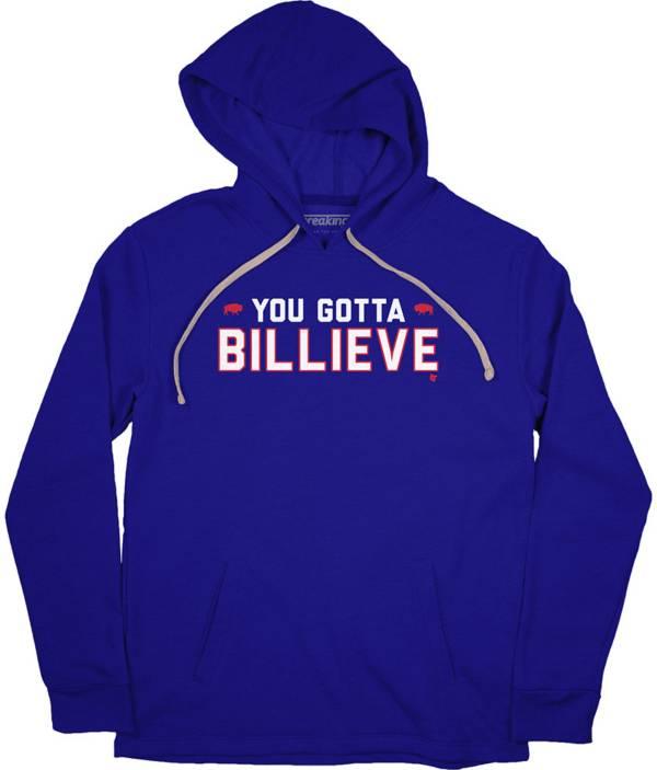 BreakingT Men's You Gotta Billieve Blue Hoodie product image