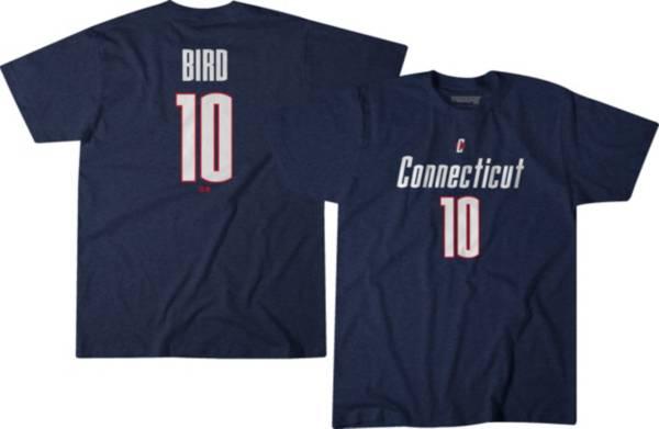 BreakingT UConn Huskies Sue Bird #10 Blue Basketball T-Shirt product image