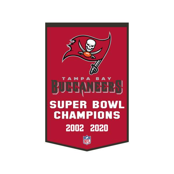 Winning Streak Sports Super Bowl LV Champions Tampa Bay Buccaneers Dynasty Banner product image