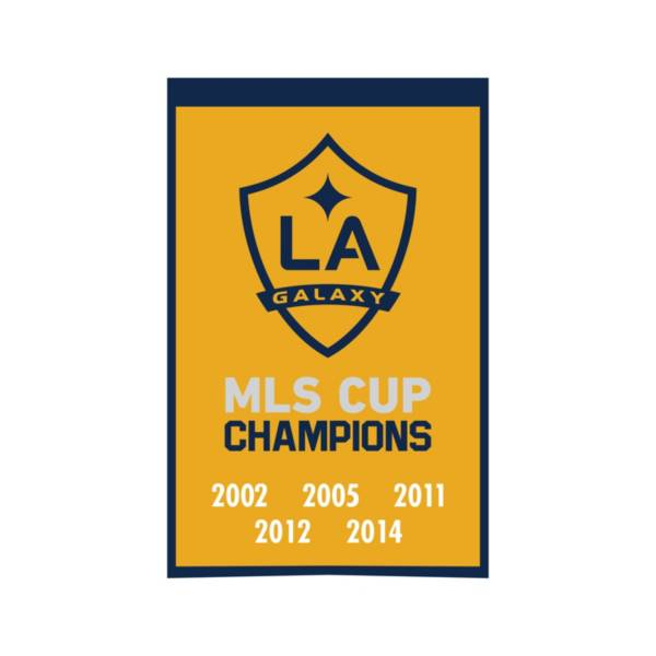 Winning Streak Sports Los Angeles Galaxy Champs Banner product image