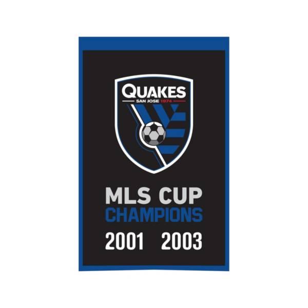Winning Streak Sports San Jose Earthquakes Champs Banner product image