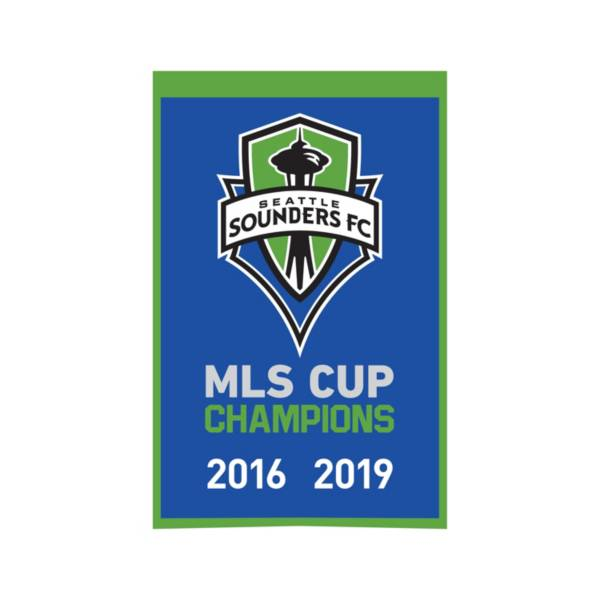 Winning Streak Sports Seattle Sounders Champs Banner product image