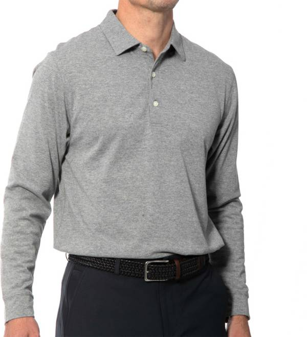 Dunning Men's Vance Natural Hand Long Sleeve Golf Polo product image