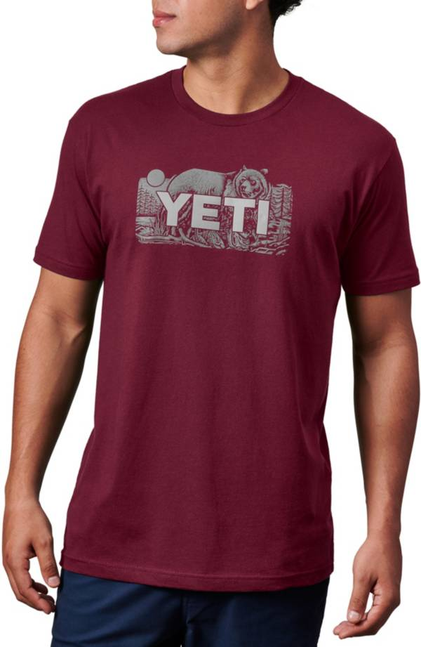 YETI Men's Bear Badge Graphic T-Shirt product image