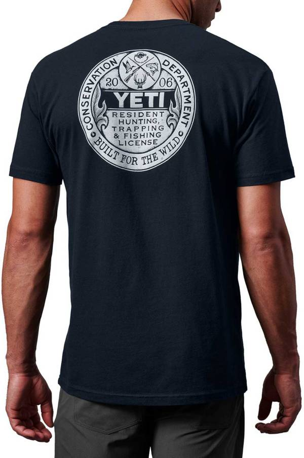 YETI Men's Trapping License Graphic T-Shirt product image