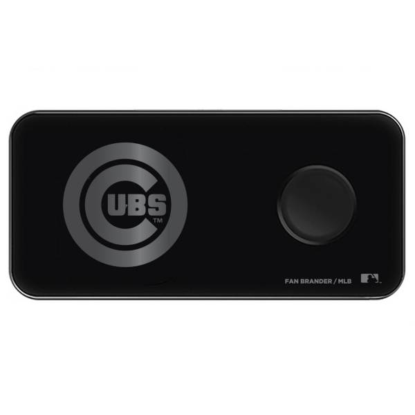 Fan Brander Chicago Cubs 3-in-1 Glass Wireless Charging Pad product image