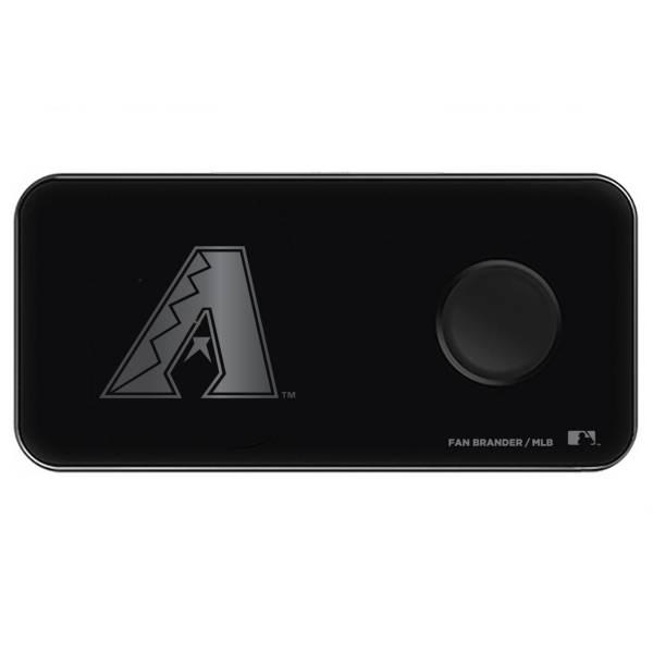 Fan Brander Arizona Diamondbacks 3-in-1 Glass Wireless Charging Pad product image