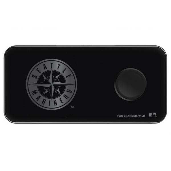 Fan Brander Seattle Mariners 3-in-1 Glass Wireless Charging Pad product image