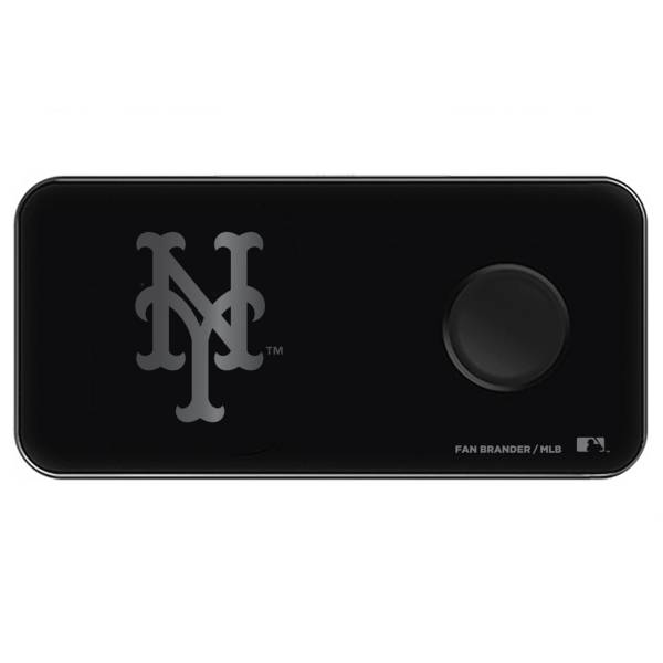 Fan Brander New York Mets 3-in-1 Glass Wireless Charging Pad product image
