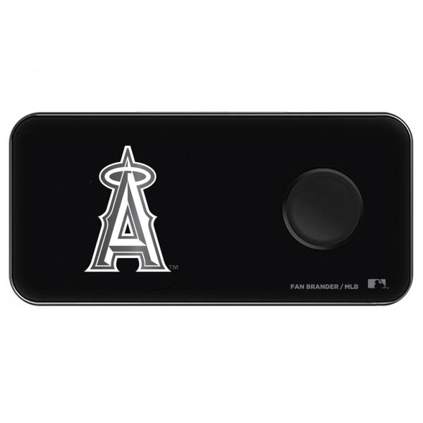 Fan Brander Los Angeles Angels 3-in-1 Glass Wireless Charging Pad product image