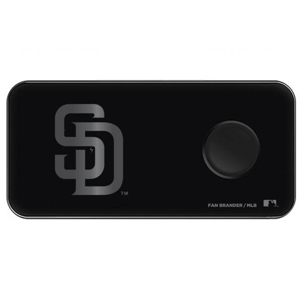 Fan Brander San Diego Padres 3-in-1 Glass Wireless Charging Pad product image