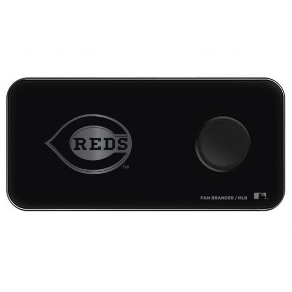 Fan Brander Cincinnati Reds 3-in-1 Glass Wireless Charging Pad product image