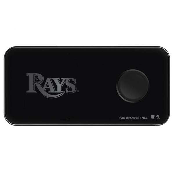 Fan Brander Tampa Bay Rays 3-in-1 Glass Wireless Charging Pad product image