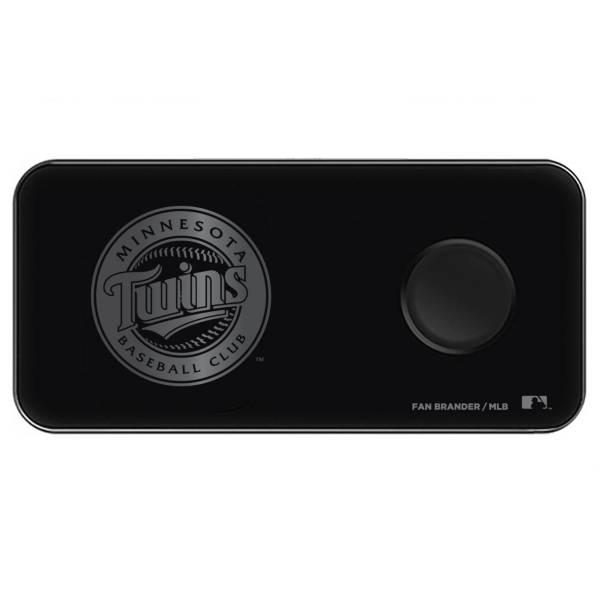 Fan Brander Minnesota Twins 3-in-1 Glass Wireless Charging Pad product image
