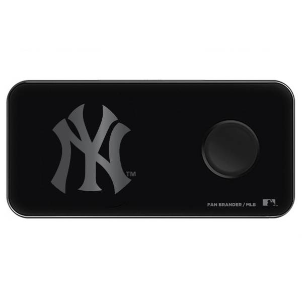 Fan Brander New York Yankees 3-in-1 Glass Wireless Charging Pad product image