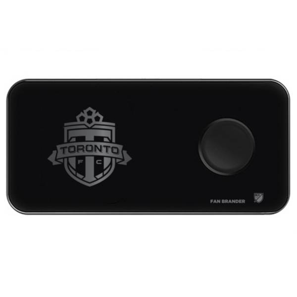 Fan Brander Toronto FC 3-in-1 Glass Wireless Charging Pad product image