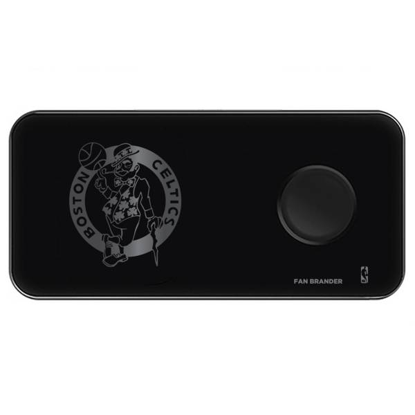 Fan Brander Boston Celtics 3-in-1 Glass Wireless Charging Pad product image