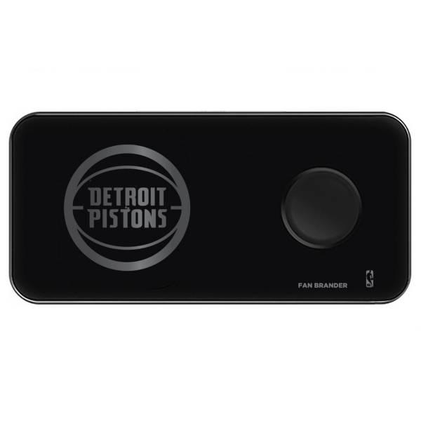 Fan Brander Detroit Pistons 3-in-1 Glass Wireless Charging Pad product image