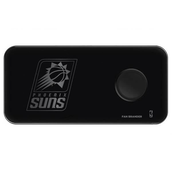 Fan Brander Phoenix Suns 3-in-1 Glass Wireless Charging Pad product image