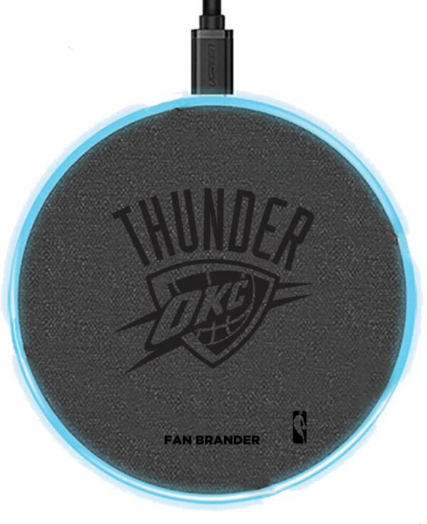 Fan Brander Oklahoma City Thunder 15-Watt Wireless Charging Base product image