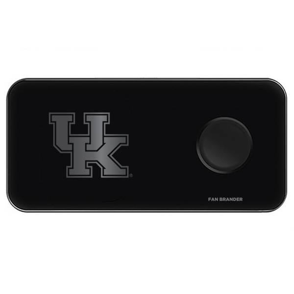 Fan Brander Kentucky Wildcats 3-in-1 Glass Wireless Charging Pad product image