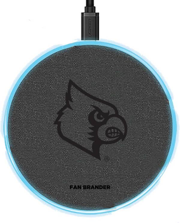 Fan Brander Louisville Cardinals 15-Watt Wireless Charging Base product image