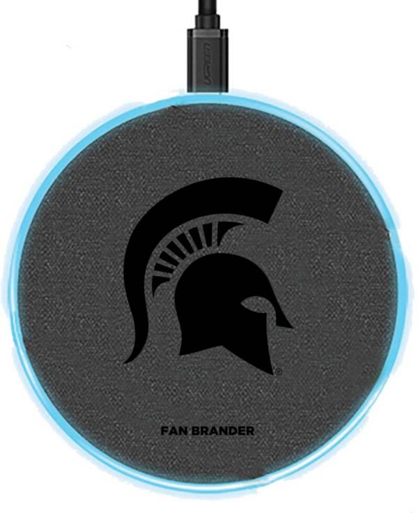 Fan Brander Michigan State Spartans 15-Watt Wireless Charging Base product image