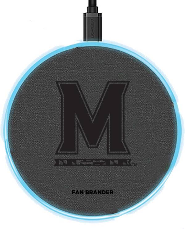 Fan Brander Maryland Terrapins 15-Watt Wireless Charging Base product image