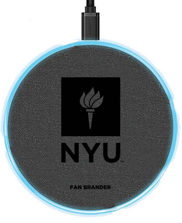 Fan Brander NYU Violets 15-Watt Wireless Charging Base product image