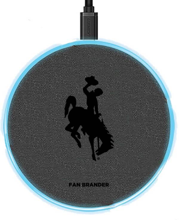 Fan Brander Wyoming Cowboys 15-Watt Wireless Charging Base product image
